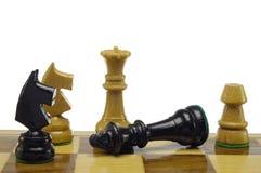Jogo de xadrez Fotografia de Stock Royalty Free