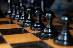 Jogo de xadrez Imagens de Stock Royalty Free