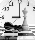 Jogo de xadrez ilustração do vetor