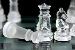 Jogo de xadrez 3 Foto de Stock