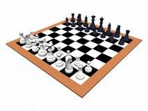 Jogo de xadrez Imagem de Stock