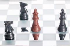 Jogo de xadrez Fotografia de Stock