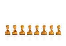 Jogo de xadrez Imagens de Stock