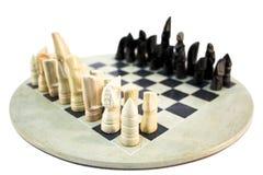 Jogo de xadrez africano fotos de stock