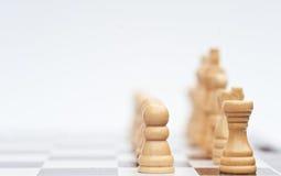 Jogo de xadrez do conceito do negócio da estratégia Fotos de Stock