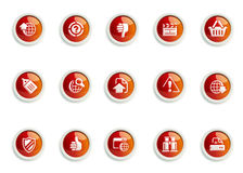 Jogo do ícone Foto de Stock