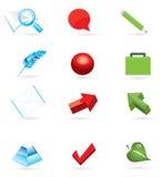 jogo do ícone 3d Fotos de Stock Royalty Free