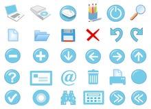 jogo do ícone 3d Fotos de Stock