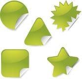 Jogo do ícone da etiqueta ilustração stock