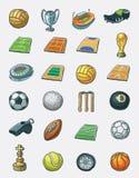Jogo do ícone do esporte Imagens de Stock