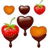 Jogo do ícone do Valentim Foto de Stock