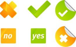 Jogo do ícone do vetor do voto ilustração royalty free