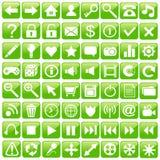 Jogo do ícone do Web. Imagens de Stock