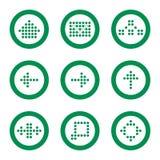 Jogo do ícone do Web Ilustração Stock