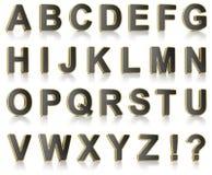 Jogo do alfabeto Imagens de Stock Royalty Free