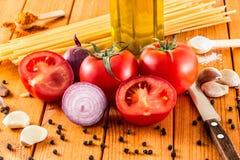 Jogo do alimento cozinhar Fotos de Stock