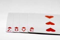 Jogo do amor Imagens de Stock