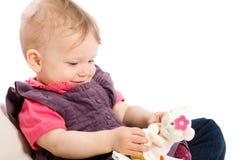 Jogo do bebé Fotografia de Stock Royalty Free