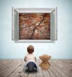 Jogo 9 do bebê Fotografia de Stock