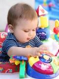 Jogo do bebê Imagens de Stock
