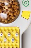 Jogo do Bingo Fotos de Stock Royalty Free