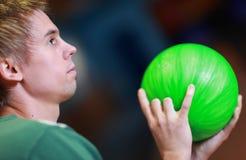 Jogo do bowling Imagem de Stock Royalty Free