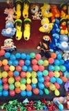 Jogo do carnaval do verão Fotos de Stock Royalty Free