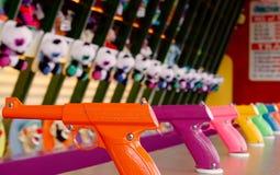 Jogo do carnaval em carvalhos parque de diversões, Portland Oregon, EUA imagens de stock