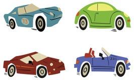Jogo do carro Imagem de Stock