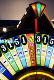 Jogo do casino da roda da fortuna Fotografia de Stock