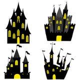 Jogo do castelo ilustração stock