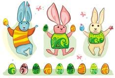 Jogo do coelho de Easter. Fotografia de Stock