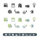 Jogo do ícone Imagens de Stock