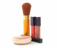 Jogo do cosmético Fotografia de Stock