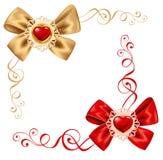 Jogo do dia dos Valentim Fotografia de Stock Royalty Free
