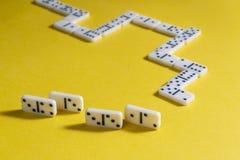 Jogo do domin? fotos de stock