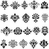 Jogo do emblema do damasco Imagens de Stock Royalty Free