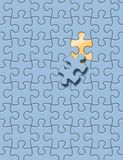 Jogo do enigma Imagem de Stock Royalty Free