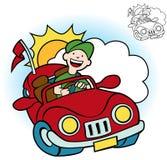 Jogo do excitador de carro ilustração stock