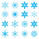 Jogo do floco de neve ilustração royalty free