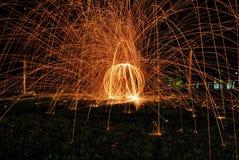Jogo do fogo Imagem de Stock Royalty Free