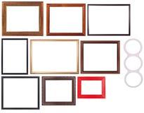 Jogo do frame de retrato Imagens de Stock Royalty Free