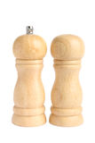 Jogo do frasco de sal e de pimenta Imagem de Stock Royalty Free