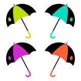 Jogo do guarda-chuva Ilustra??o do vetor ilustração royalty free