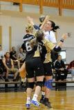 Jogo do handball de Kaposvar - de Bacsbokod Foto de Stock Royalty Free
