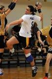 Jogo do handball de Kaposvar - de Bacsbokod Imagens de Stock