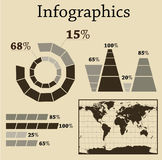 jogo do Informação-gráfico Imagens de Stock Royalty Free