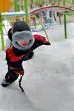 Jogo do inverno Fotos de Stock Royalty Free