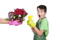 Jogo do jardineiro Imagem de Stock