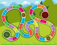 Jogo do labirinto Imagens de Stock Royalty Free